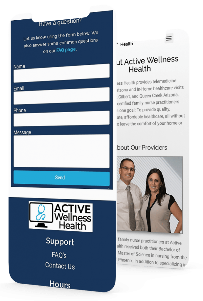 Active Wellness Double Screen Mobile
