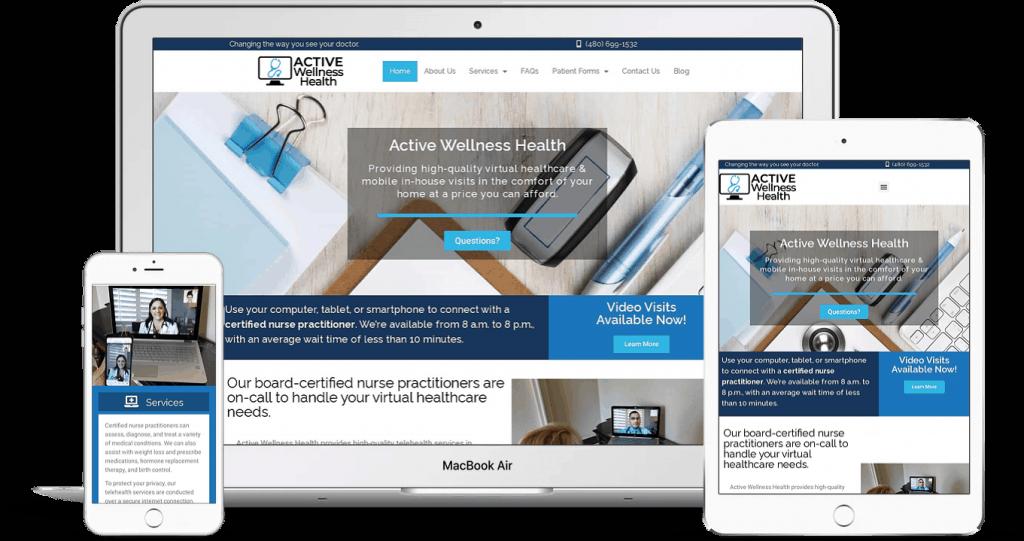 Doctor and medical website design