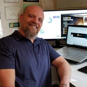 David Prian owner of Inspir3d Marketing