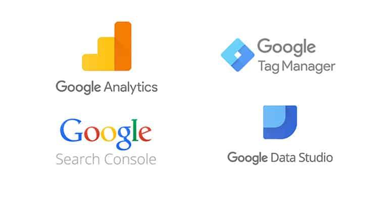 Google marketing product logos