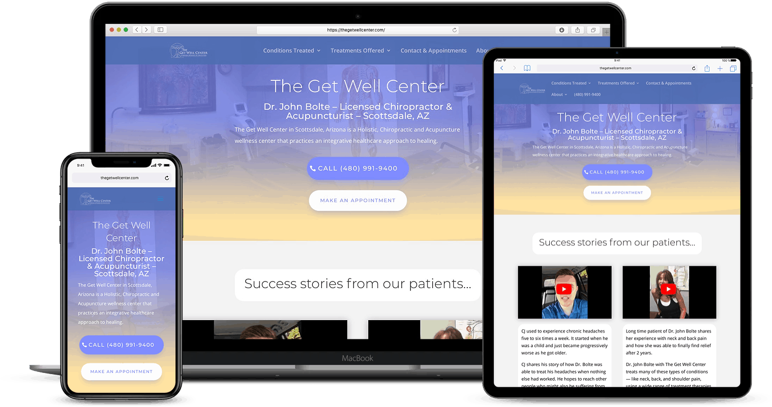 Medical Practice Website Designs