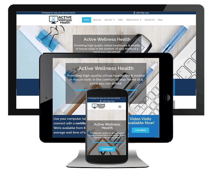 doctor and physician website design