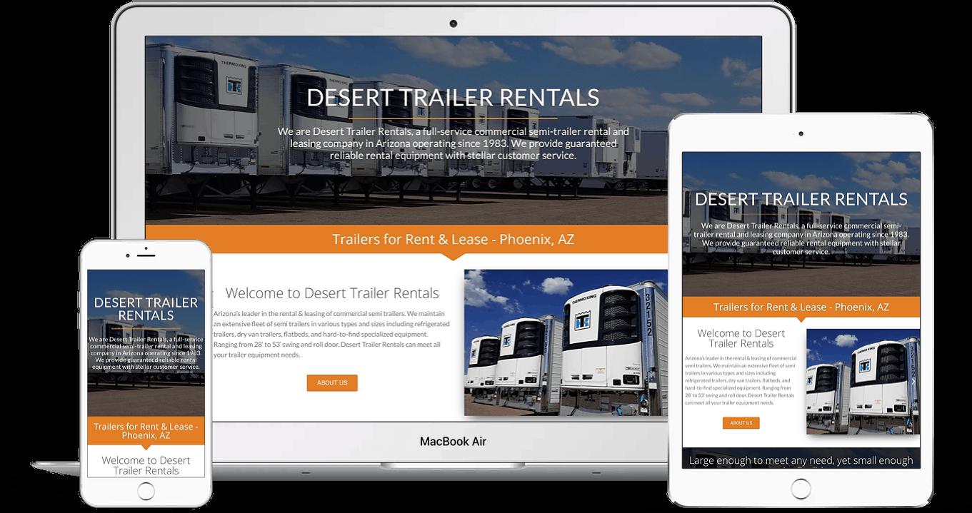 Transporation industry website design