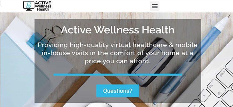mobile-phone-layout-horizontal-medical-site