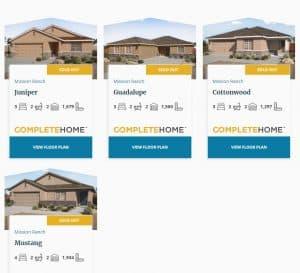 Homebuilder SEO Community Page