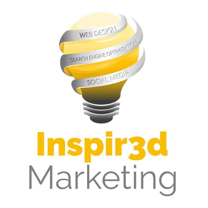inspir3d marketing logo square