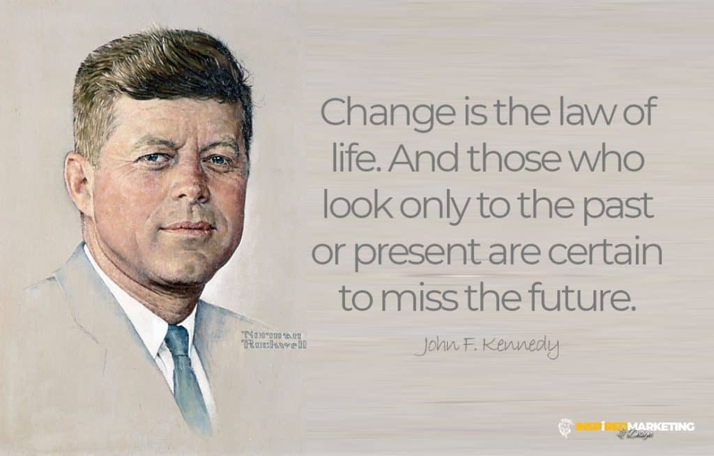 John F Kennedy Quote