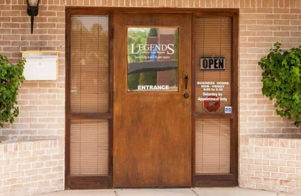 legends front door