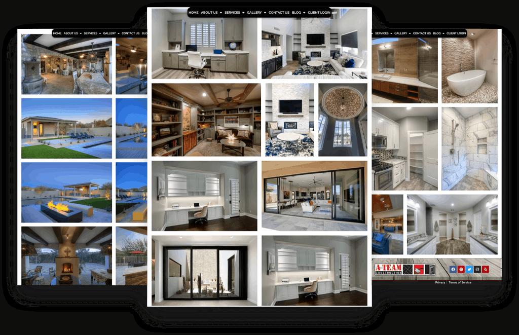 Website Gallery Example